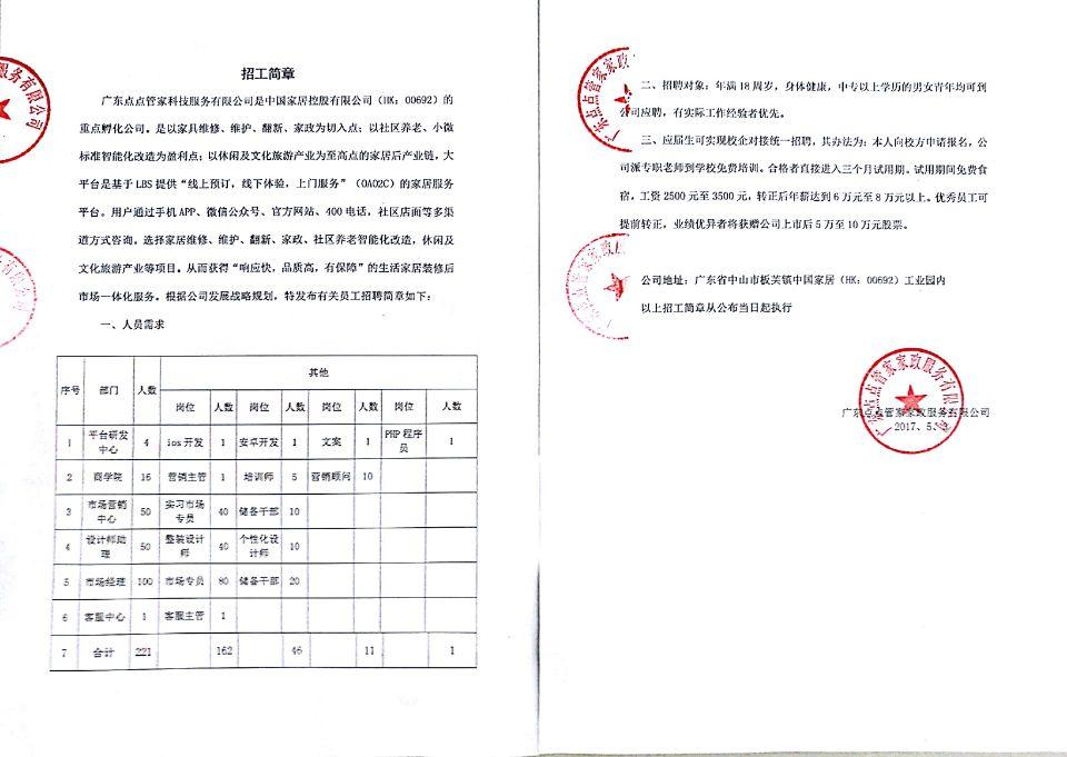 广东点点管家智能科技有限公司 _才通国际人才网_job001.cn